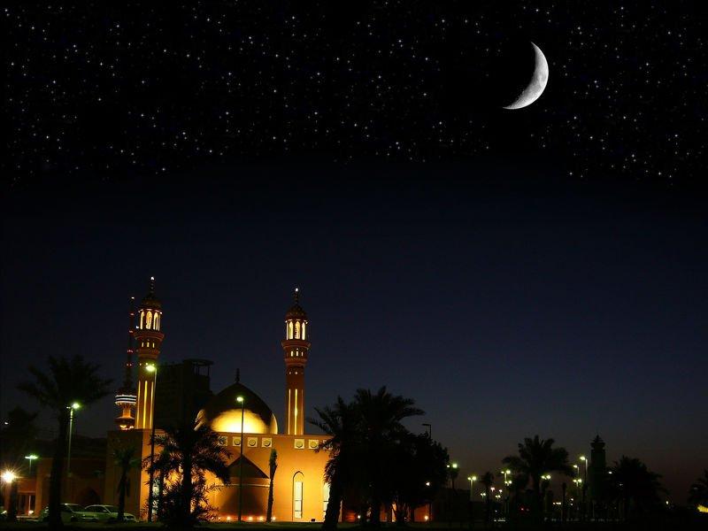 齋戒月的日期,直到現在還是觀察月亮而決定。(圖/Bashar_Al-Ba'noon @flickr)