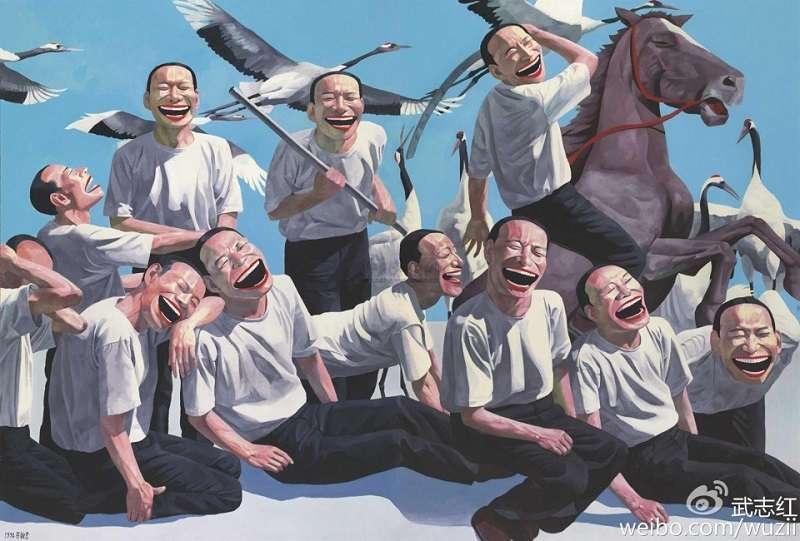 武志紅被查禁的《巨嬰國》插畫。(取自武志紅微博)