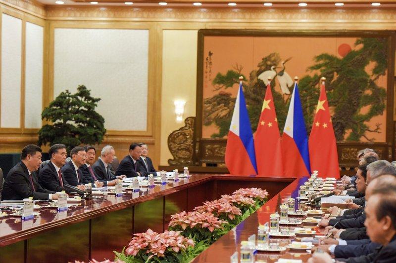 一帶一路高峰論壇15日閉幕,30國代表簽署聯合公報。(美聯社)