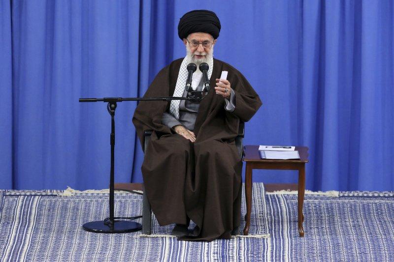 伊朗最高領袖哈米尼。(美聯社)