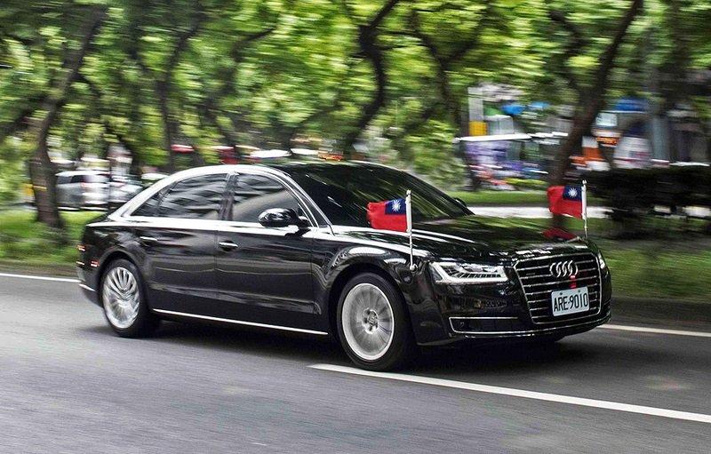 蔡英文總統的防彈座車。(圖片來源:Audi Taiwan)
