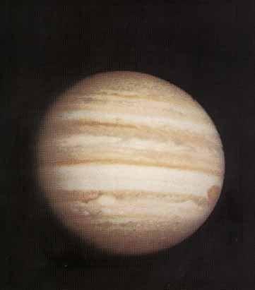 先驅者10號拍下的木星照片。(wikipedia/public domain )