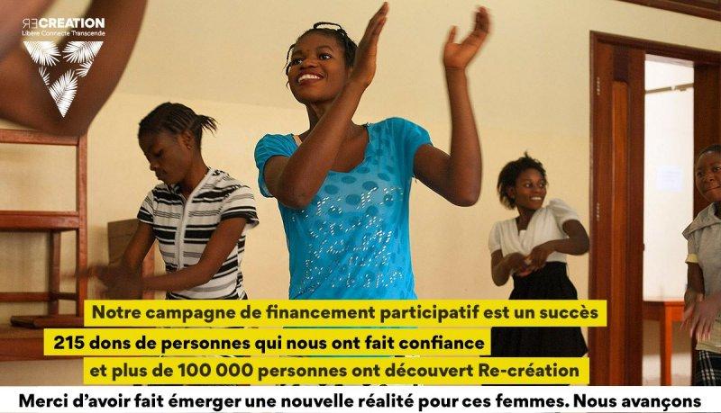 波利瓦帶領的舞團致力於幫助受害女性重獲自信。(圖/re-création 粉絲專頁)