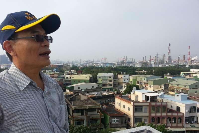 高雄大林蒲居民,從土地被徵收、承受污染、一步步走到遷村,成為第一個可能因空污而迫遷的村落。(圖/朱淑娟提供)