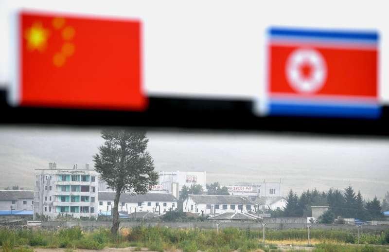 中國與北韓邊境。(美聯社)