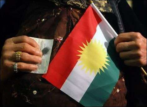 庫德族渴望一世紀的建國大夢,將因為對抗IS戰役終於實現嗎?(美聯社)