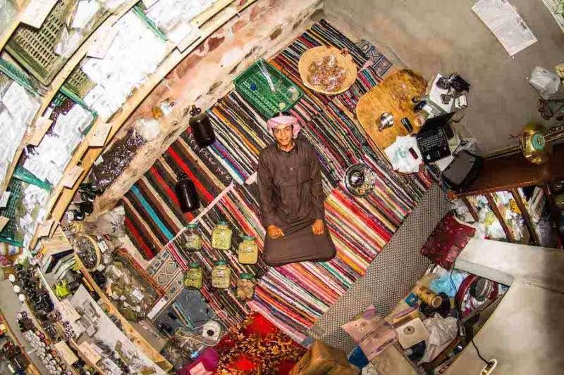 Mohamed 來自埃及的聖凱薩琳修道院。(圖/城市美學新態度提供)
