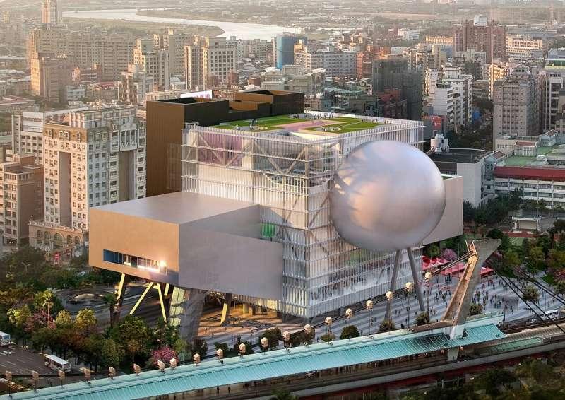 臺北表演藝術中心。(圖/廣藝基金會提供)