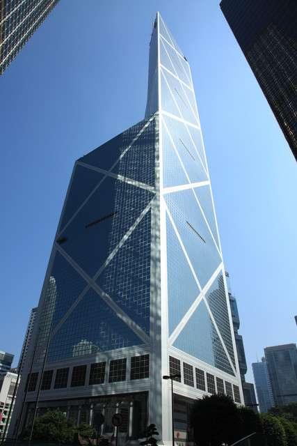 香港 中環花園道1號的中銀大廈。(圖/城市美學新態度提供)