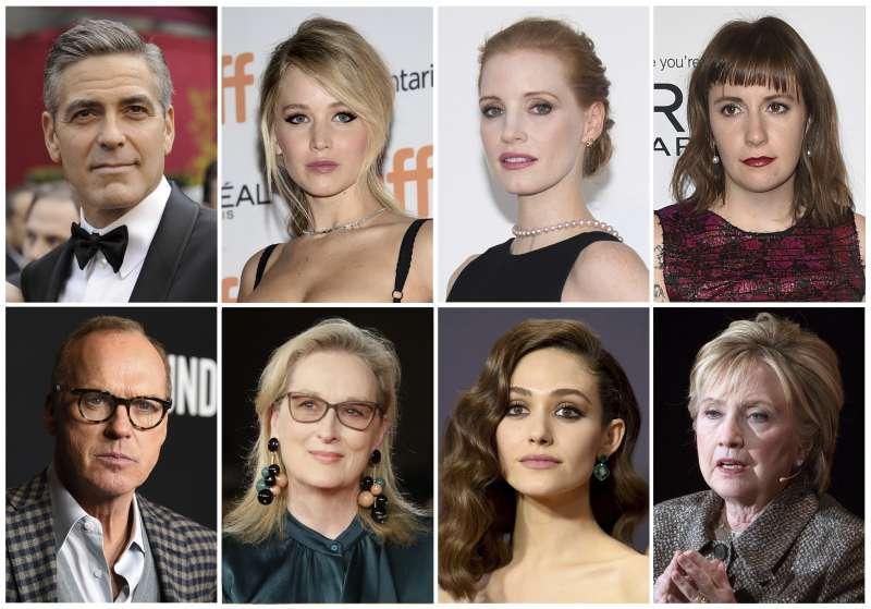 好萊塢多位明星出言撻伐知名製作人溫斯坦的性騷擾行為。(美聯社)