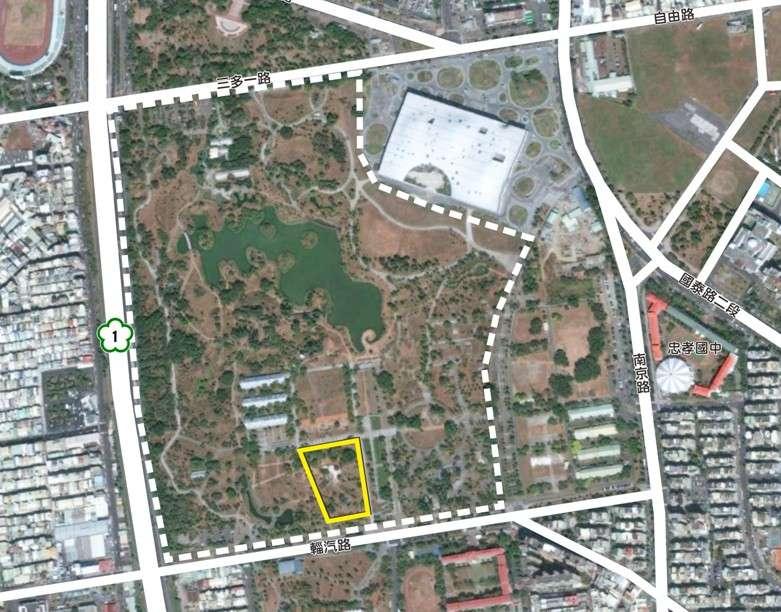 高雄衛武營都會公園內打造一處面積約1.3公頃的共融遊戲場。(圖/高雄市工務局養工處提供)