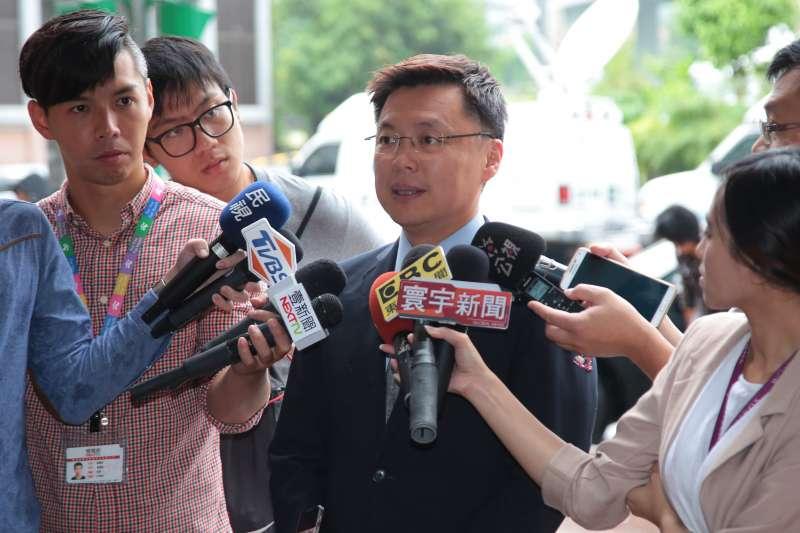 20171012-立委趙天麟12日出席民進黨高雄市長提名徵詢作業,首波協調會。(顏麟宇攝)
