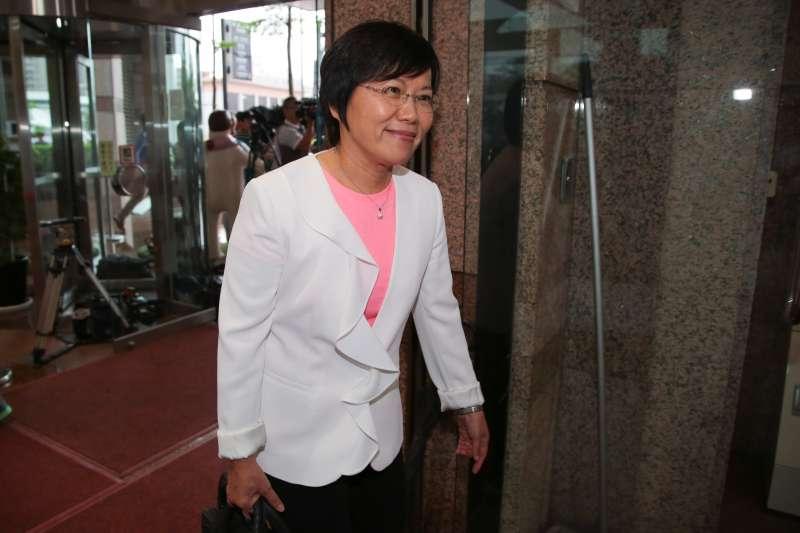 20171012-立委劉世芳12日出席民進黨高雄市長提名徵詢作業,首波協調會。(顏麟宇攝)