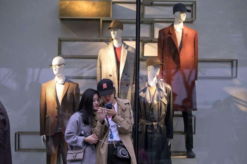 2017年10月中共十九大在北京召開,中國經濟民生是焦點議題(AP)