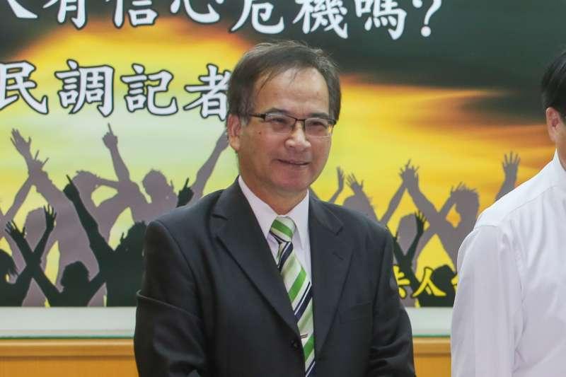 20171023-台灣民意基金會舉行「台灣人有信心危機嗎?」全國性民調發表會,蘇煥智律師。(陳明仁攝)