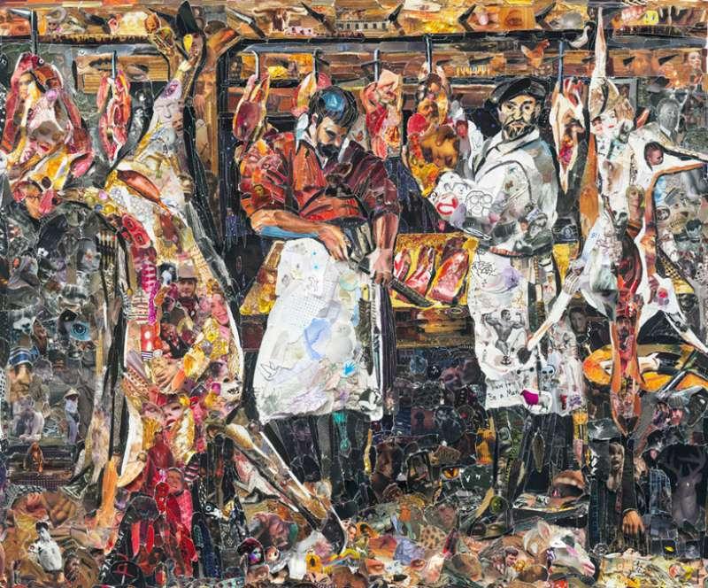 the butcher's shop – 卡拉喬