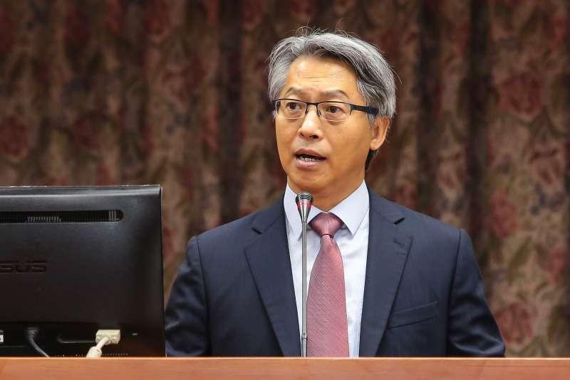 20171120-中研院長廖俊智20日於立院教育委員會備詢。(顏麟宇攝)