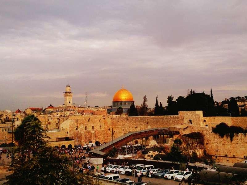 耶路撒冷舊城哭牆。(攝影:中東流浪者)