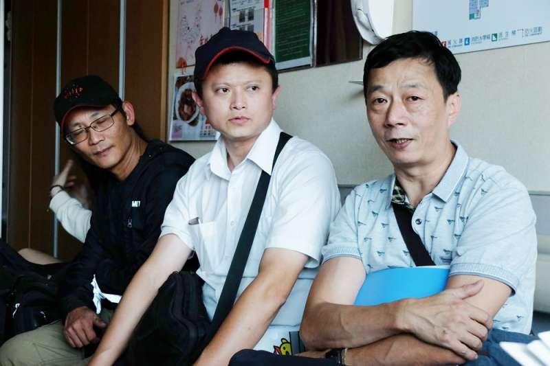 台灣汽車產業工會理事長陳彥霖、理事范光明(謝孟穎攝)