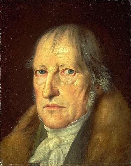 德國哲學家黑格爾。(取自維基百科)