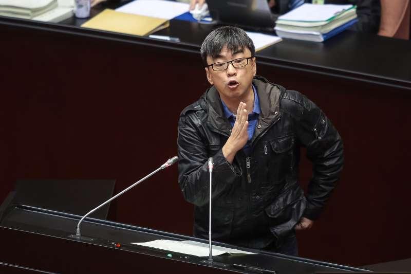 20171226-民進黨立委段宜康26日於院會發言。(顏麟宇攝)