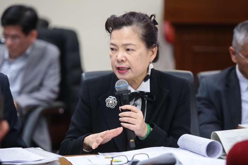 20171227-經濟部次長王美花27日出席經濟委員會審查礦業法。(顏麟宇攝)