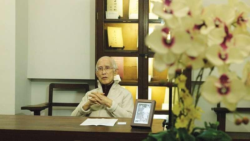 余光中說,香港中文大學是寫詩的理想地方。(取自中大通訊官網)