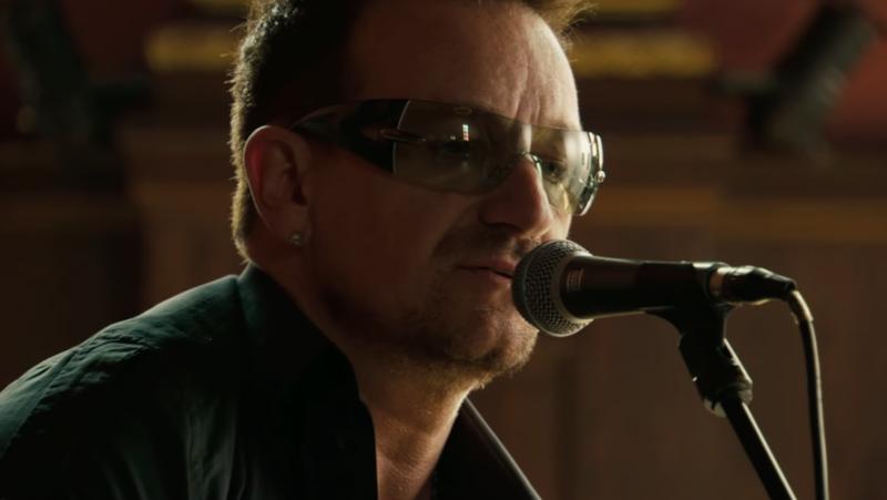 愛爾蘭搖滾樂團U2主唱波諾(Bono)。(網路截圖)
