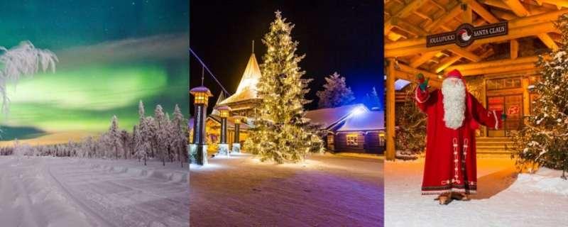 來到耶誕老人村,可以一睹聖誕老公公的風采、追極光,還可以體驗馴鹿雪橇和哈士奇雪橇(圖/女子學提供)