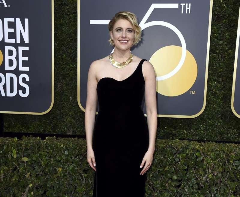 女導演葛莉塔潔薇執導的《淑女鳥》入圍今年金球獎四項獎項,她卻未獲「最佳導演獎」提名(AP)
