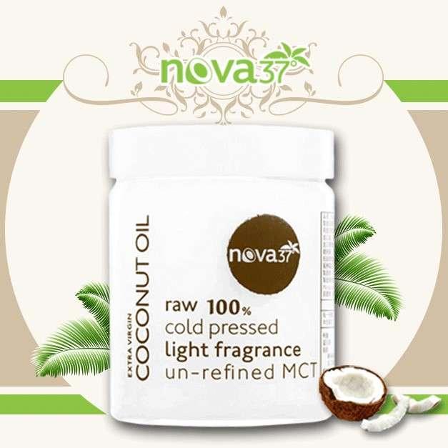 Nova37°椰子油在品質安全上廣受好評。(圖/Nova37°初榨冷壓椰子油提供)