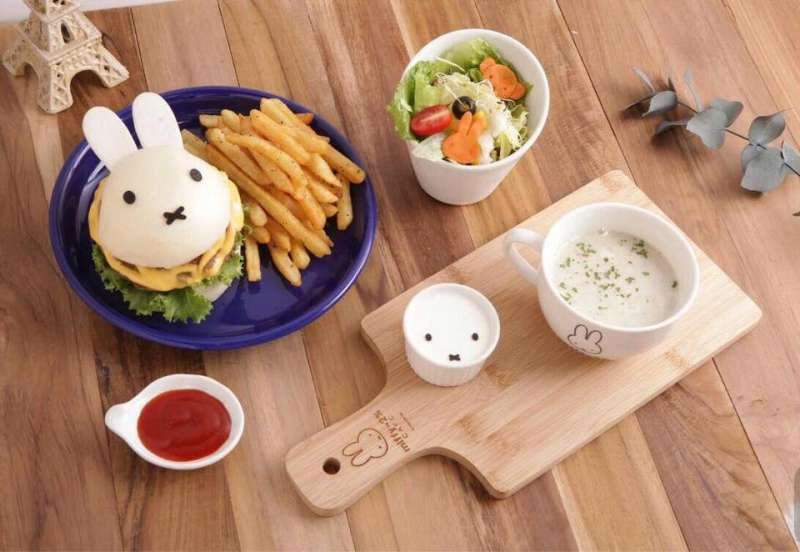 (圖/miffy x 2% CAFE@Facebook)