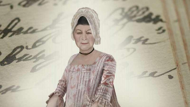 瑞士巴塞爾的神祕木乃伊的真實身分:安娜.凱瑟琳娜.畢修孚(Anna Catharina Bischoff)(SRF video 截圖)