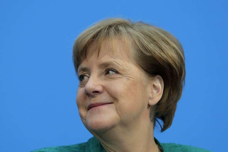 德國總理梅克爾與社會民主黨(SPD)達成共識,再度組成聯合政府(AP)