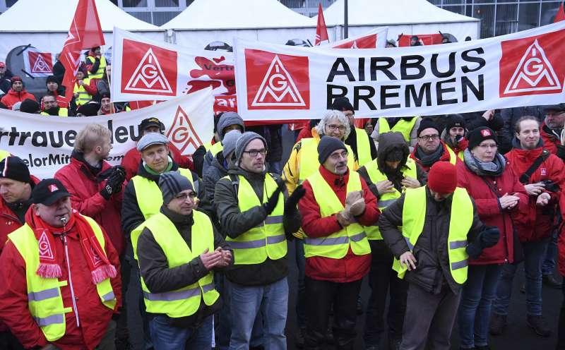 德國金屬產業工會(IG Metall)與企業代表達成協議,數百萬成員可享有每周28小時的家庭照護假達2年。(美聯社)