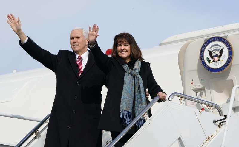 美國副總統彭斯(Mike Pence)將出席平昌冬奧開幕式(AP)