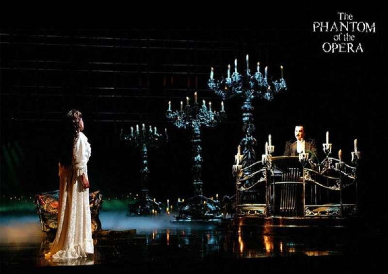《歌劇魅影》當年為兩廳院創下兩億營收的佳績。(宣傳海報)