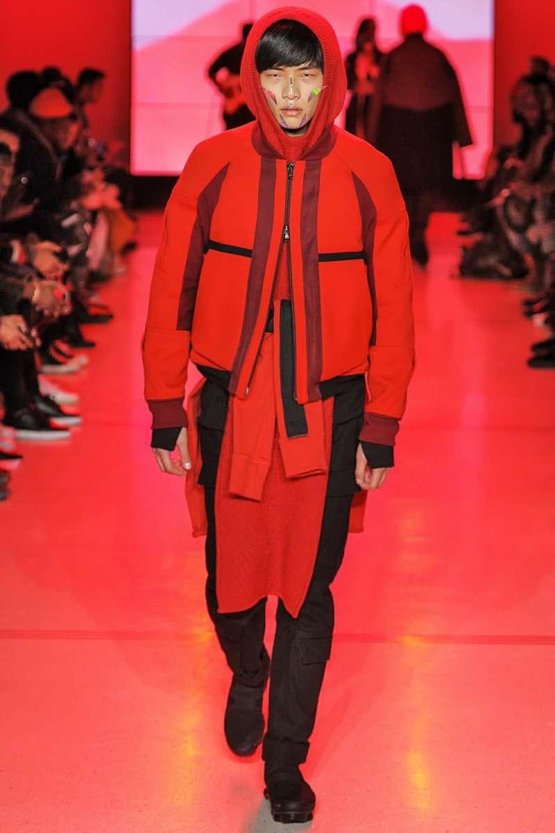紐約時裝周:台灣模特兒許毓哲(廖育婉提供)
