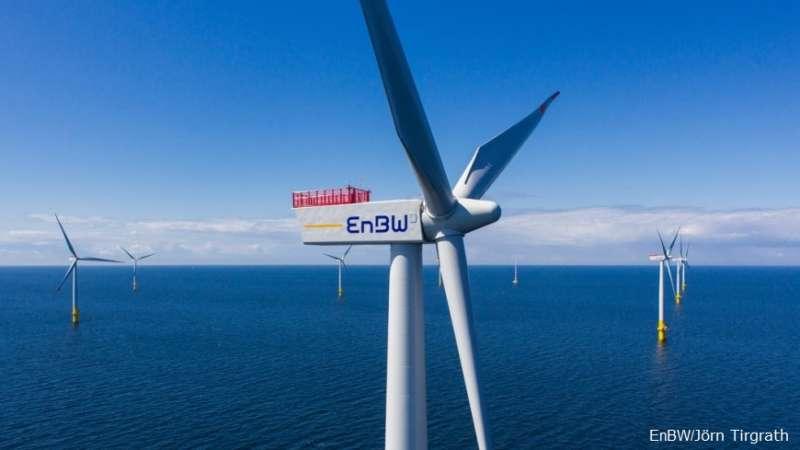2018-02-12-德國電力公司EnBW將入股海鼎3座風場。離岸風力。離岸風電02。(EnBW提供)