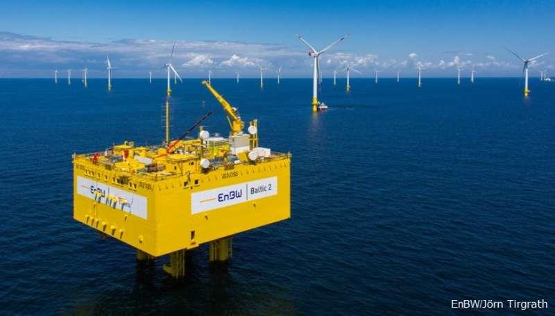 2018-02-12-德國電力公司EnBW將入股海鼎3座風場。離岸風力。離岸風電。(EnBW提供)