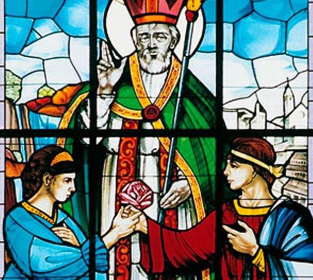 情人節:聖瓦倫丁(特爾尼鎮主教)(翻攝Focus)