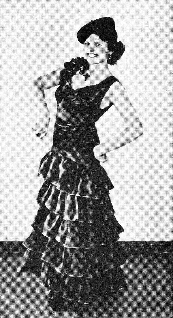 少女時代嬰兒肥的麗塔‧海華絲(Rita Hayworth)。(圖/澎湃新聞提供)
