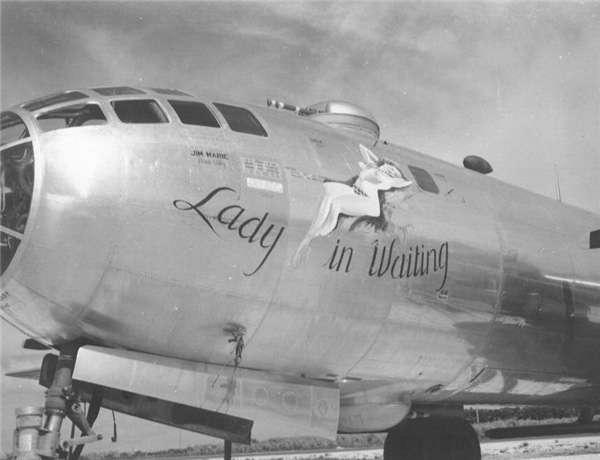 二戰時美軍轟炸機的經典塗裝。(圖/澎湃新聞提供)