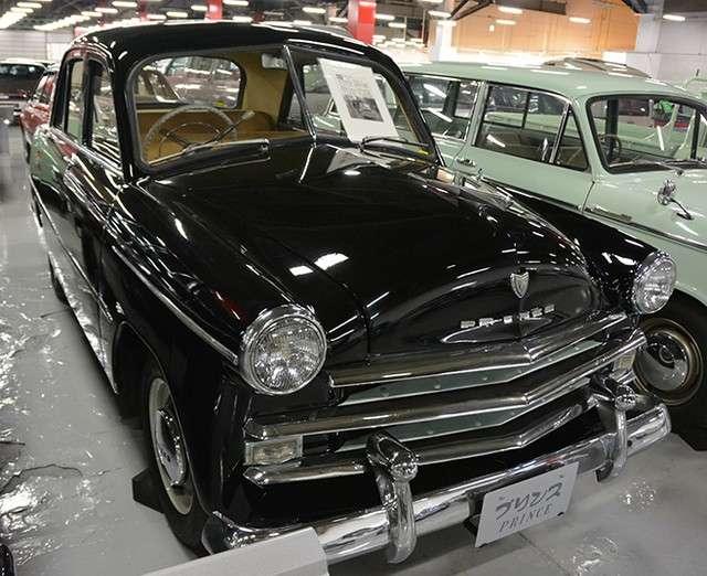 位於神奈川縣座間市,1950年推出的「Prince Sedan Deluxe」,是天皇陛下在皇太子時期所駕駛的車輛。(圖/潮日本提供)