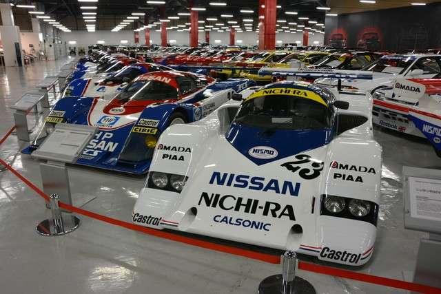 位於神奈川縣座間市,1986年推出的賽車「R86V」,曾在耐久錦標賽中活躍一時。(圖/潮日本提供)