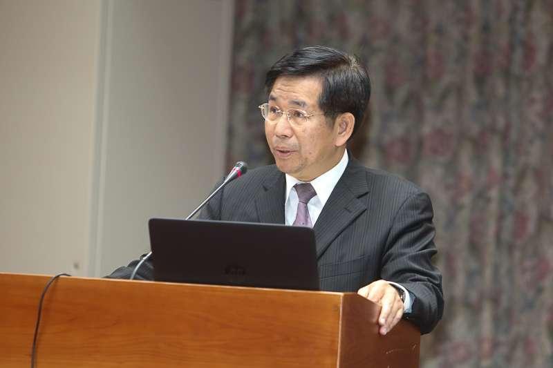 教育部長潘文忠,出席立法院委員會,部會首長報告並備詢。(陳明仁攝)
