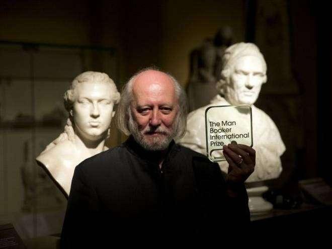 匈牙利作家克勞斯納霍凱憑著《世界繼續前進》再度入圍曼布克國際獎(美聯社》