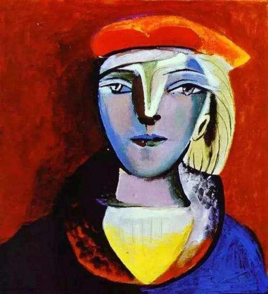 畢卡索為瑪麗·泰瑞莎創作的畫像(圖/澎湃新聞提供)
