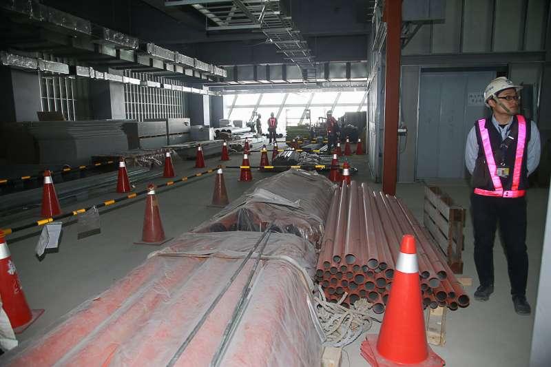 20180323-桃園國際機場第二航廈擴建工程。(陳明仁攝)