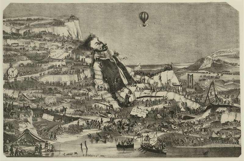 大眾看過的《格理弗遊記》,往往只是第一冊的小人國。(圖/取自the United States Library of Congress,研之有物提供)